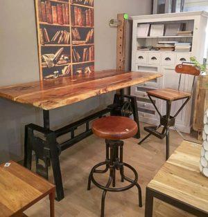 Tavolo scrivania industrial chic