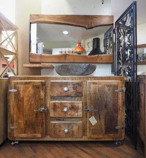 mobile bagno vintage chic