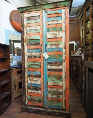 armadio legno riciclato