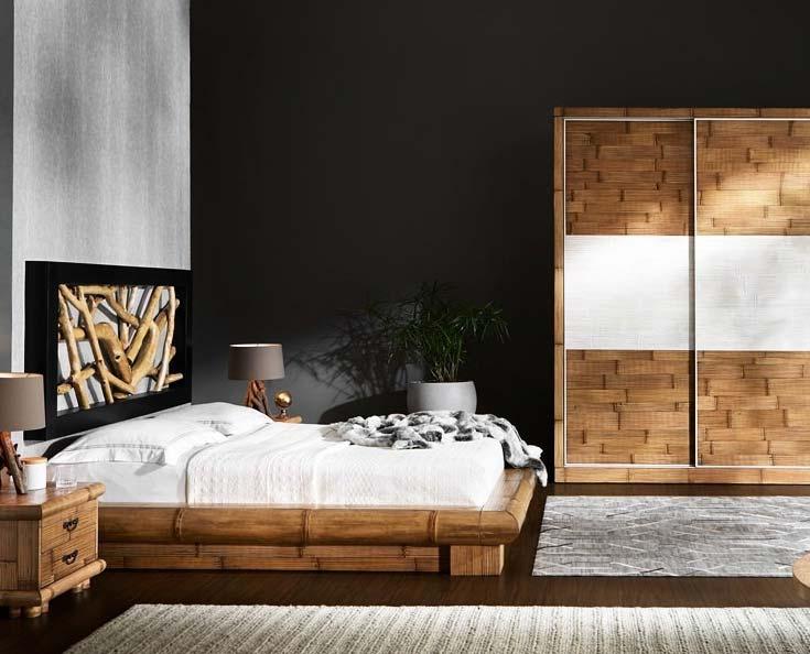 Camera da letto completa virunga