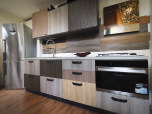 cucina industrial style