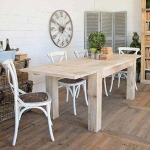 tavolo legno massiccio allungabile
