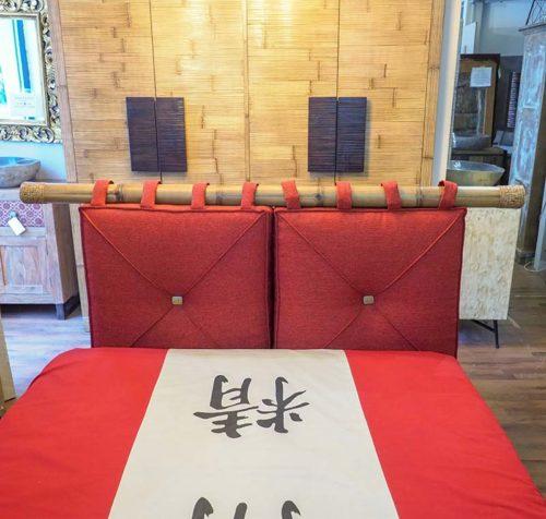 letto in bambu orientale