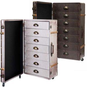 cassettiere cabinet vintage