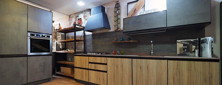 cucine in offerta da esposizione componibili con sconti a prezzi outlet