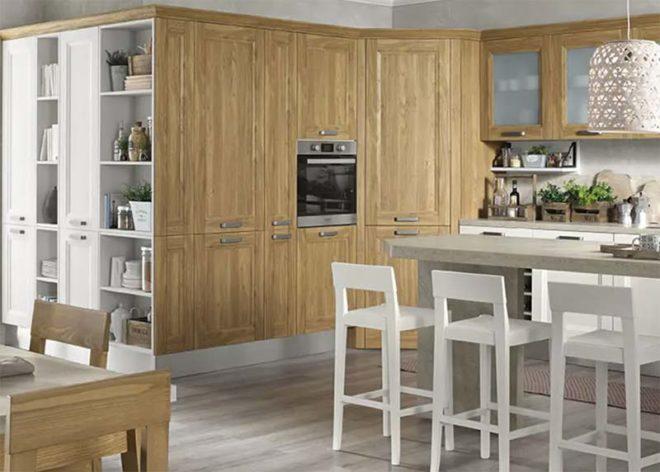 cucine moderne in legno massello