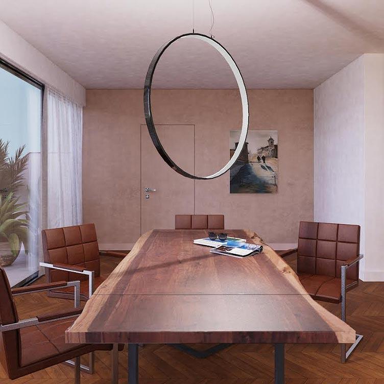 Tavolo di design allungabile dalla forma irregolare for Blog di design