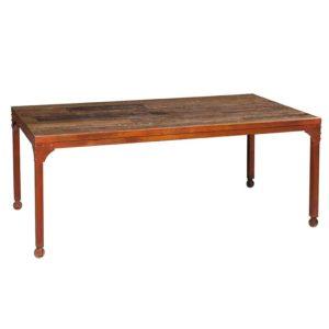 tavolo vintage ruote