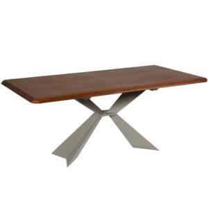 Tavolo con prolunga a scomparsa