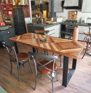 Tavolo parquet legno