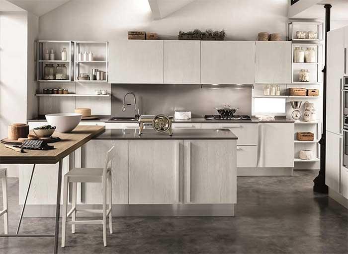 Cucina Moderna Con Isola Prezzi Composizione In Offerta