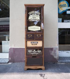 mobiletto vetrinetta vintage