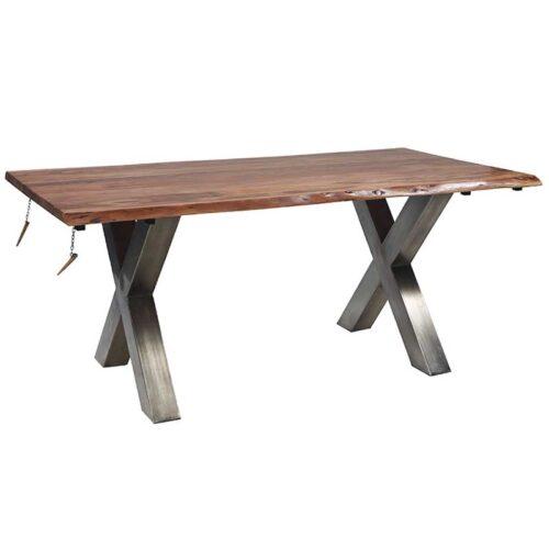 tavolo con prolunghe estraibili