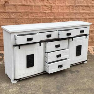 credenza shabby industrial