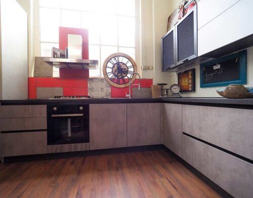 cucina ad angolo sconto