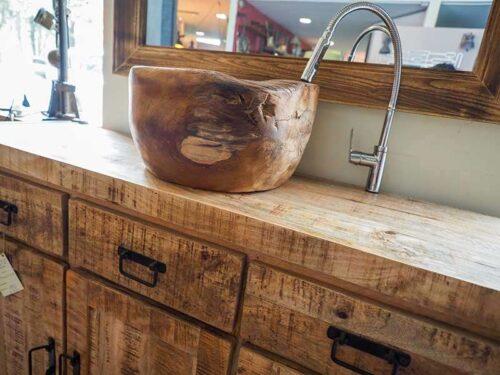 bagno legno massello