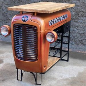 mobile bar trattore vintage