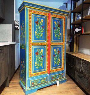 armadio rajasthan dipinto