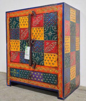 mobile tibetano dipinto a mano