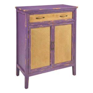 mobiletto colorato viola
