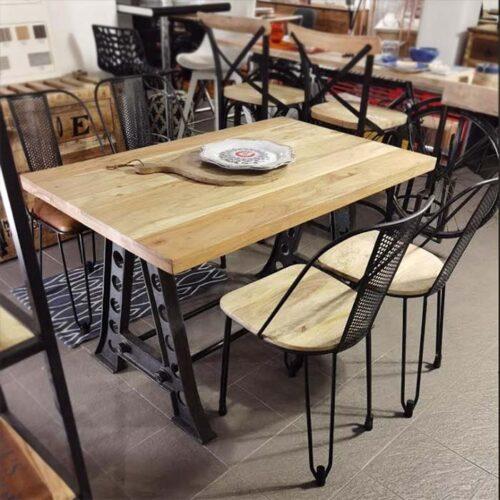 tavolo industrial chic