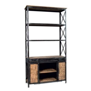 libreria industrial style
