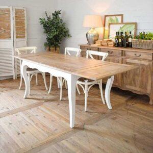 tavolo shabby allungabile