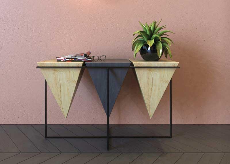 consolle da design legno