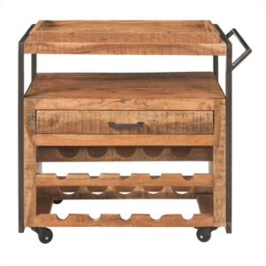 offerta carrello salvaspazio cucina legno