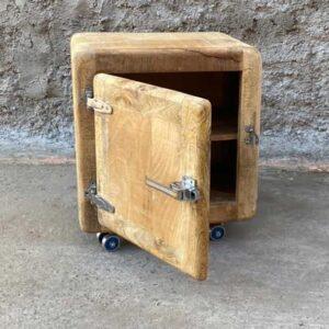 mobiletto legno massello