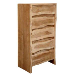 cassettiera legno massello