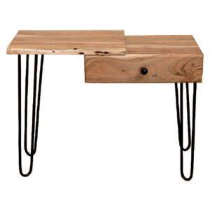 tavolino legno massello