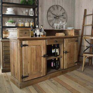 credenza vintage bar