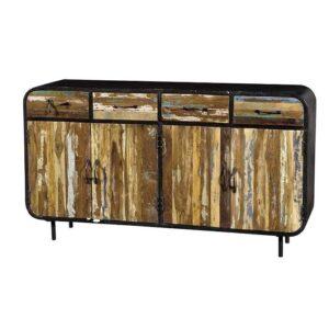credenza vintage legno