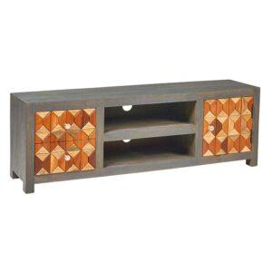 mobile tv basso legno colorato