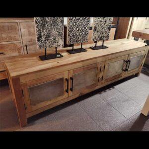 porta tv legno maseello