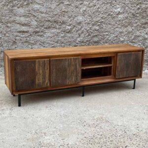 mobiletto tv legno massiccio
