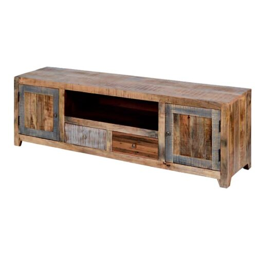 porta tv legno riciclato