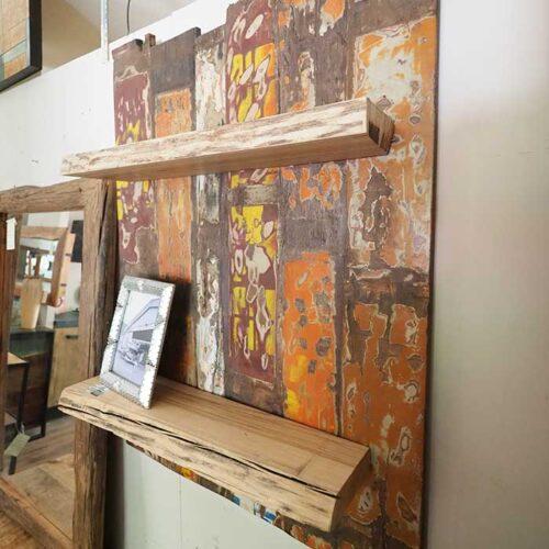parete mensola vintage