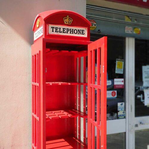 mobile cabina telefonica inglese