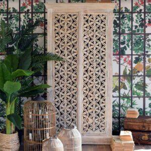 armadio bianco antico