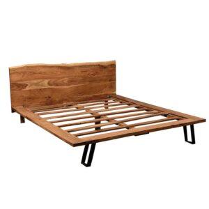 letto legno massello matrimoniale